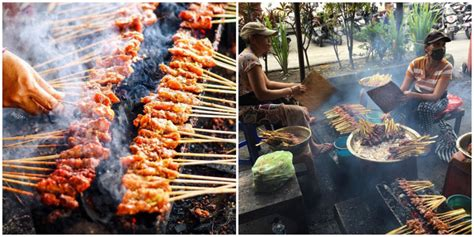 warung makan  bali  sajian  babi