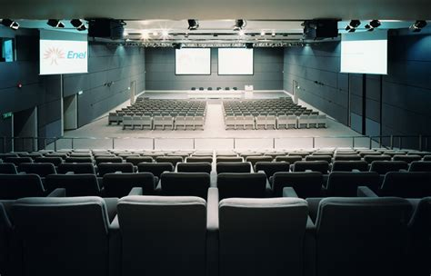 sede enel enel auditorium della sede centrale in roma gruppo fost