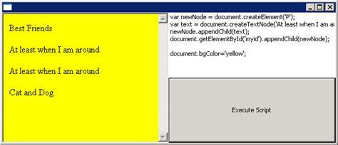 javascript pattern exec browser modify dom executing javascript 学步园