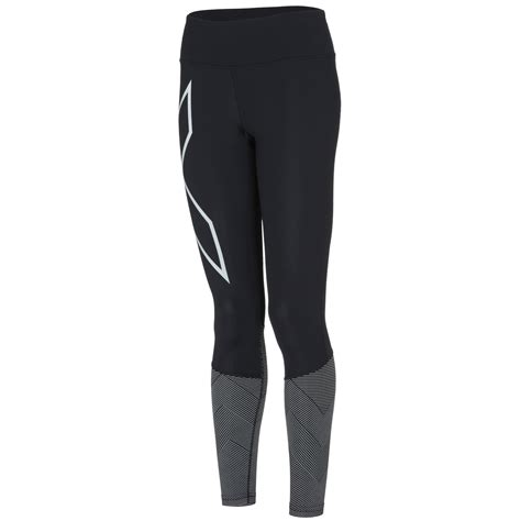 Celana 2xu Compression Tights For Size S Black wiggle 2xu s mid rise reflect compression tights compression base layers