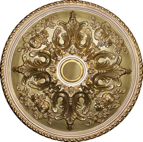Gold Ceiling Medallion by Udecor Md 9062 Gold Ceiling Medallion