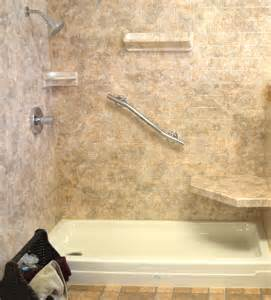 bathtub shower walls acrylic shower walls vs tile shower walls