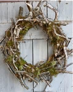 rustic wreath wreaths pinterest