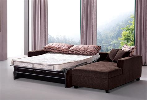 fold out sofa bed queen best modern sectional sleeper sofa queen with brown fabric