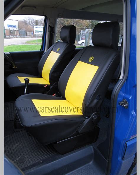 vw t4 seat covers black yellow car seat covers direct