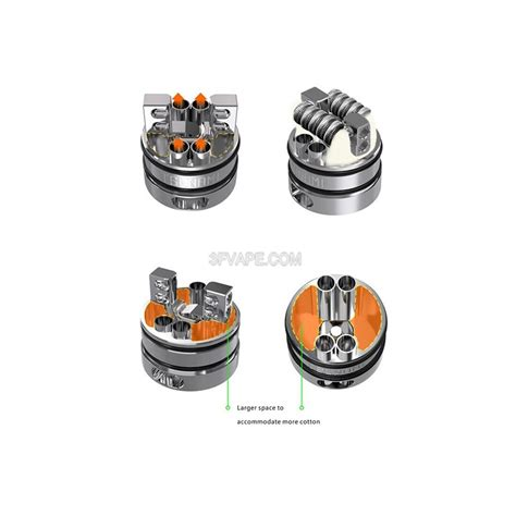 Center Pin Silver For Rda Mage Coilart Authentic Coil Clone authentic geekvape tsunami plus rda 22mm silver glass atomizer