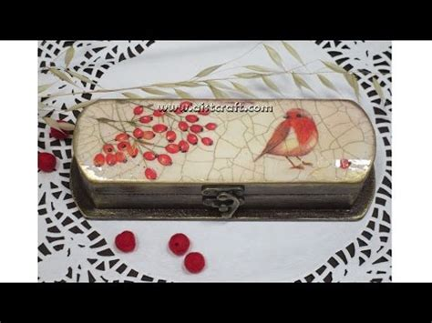 tutorial decoupage italiano vdyoutube download video quot decoupage tutorial a box diy