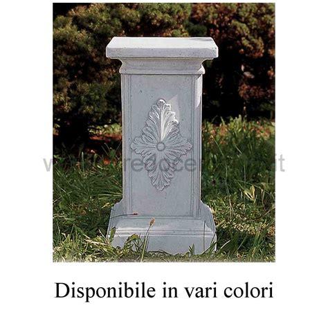 colonne da giardino colonne in cemento dorica cm35x31x60h nei vari colori