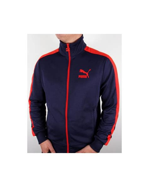 Kickers Traking Nevy t7 track top navy t7 tracksuit top jacket