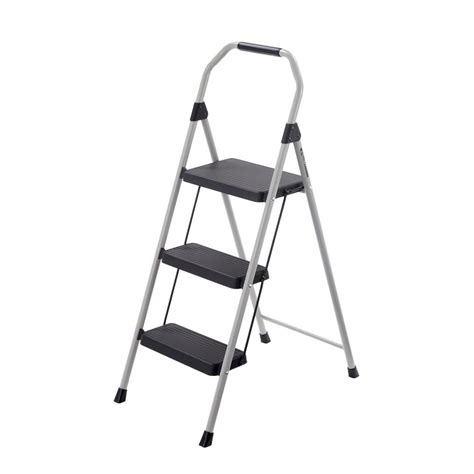 Gorilla Ladders 2 Step Compact Steel Step Stool by Gorilla Ladders 3 Step Compact Steel Step Stool With 225