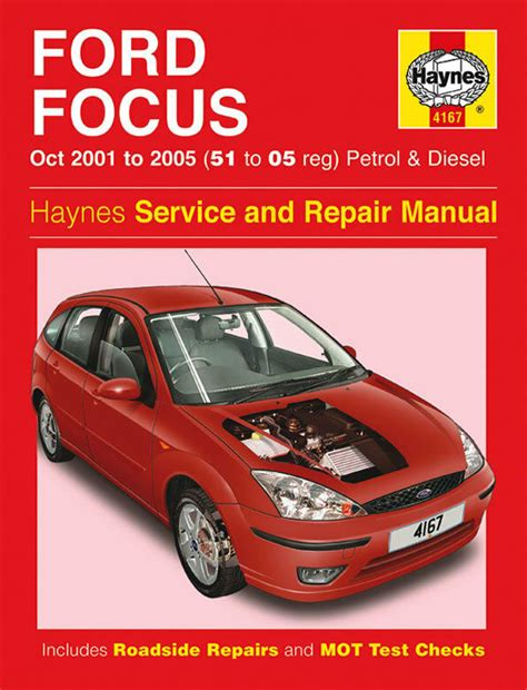 best car repair manuals 2001 ford e series electronic toll collection haynes manual 4167 ford focus 1 4 1 6 1 8 2 0 zetec petrol diesel 2001 2005 ebay