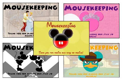 disney world thank you card templates disney printables the mouse