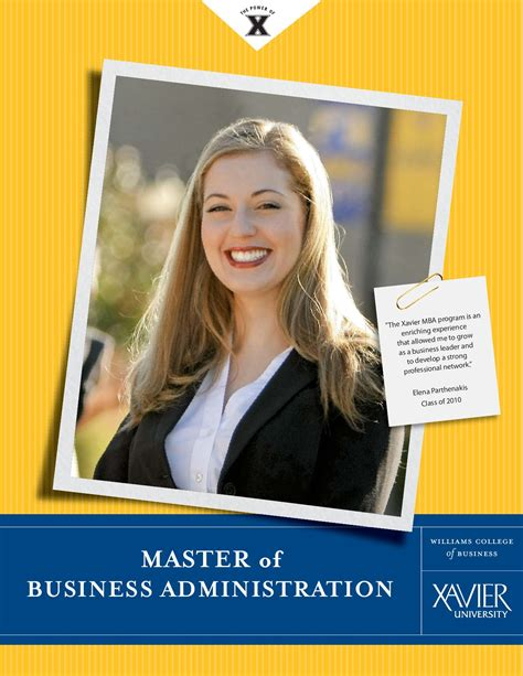 Xavier Mba Apply by Xavier Mba Brochure By Darci Guriel Issuu