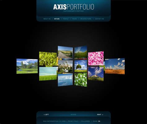 6 best images of portfolio template web design graphic