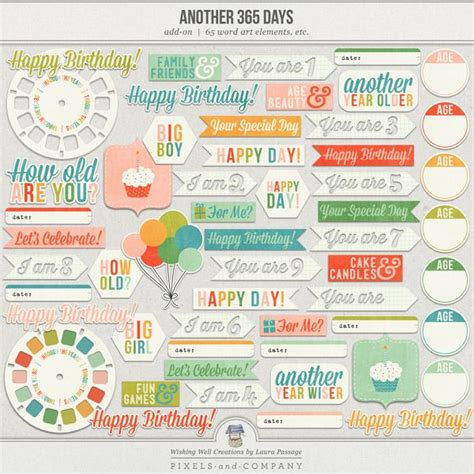 printable art how to another 365 days word art printables graphic design