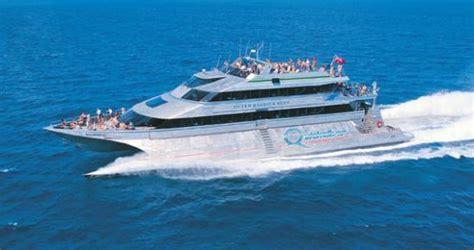 quicksilver catamaran australia quicksilver viii wavepiercer catamaran picture of port