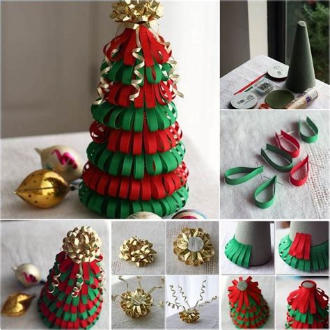 how to make a ribbon christmas tree pictures photos and