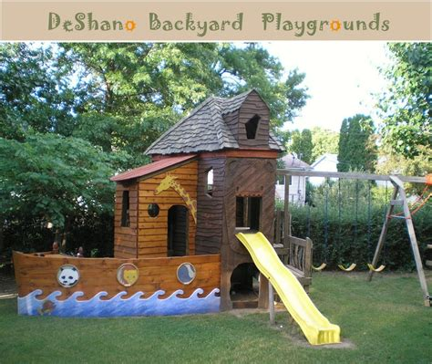 deshano backyard playgrounds