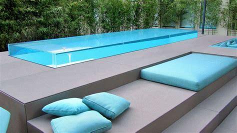 piscina in piscine in vetro professione piscina