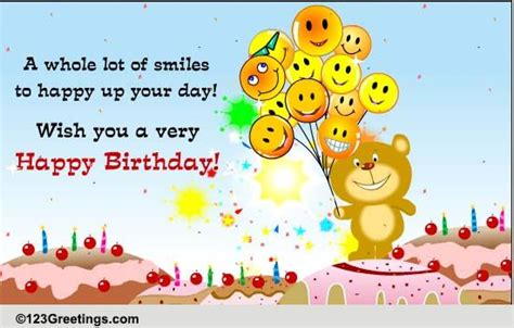 123 Greetings Happy Birthday Cards For Happy Birthday Cards Free Happy Birthday Ecards Greeting