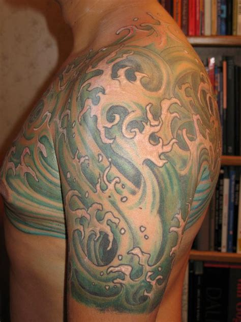 japanese waves tattoo japanese images designs