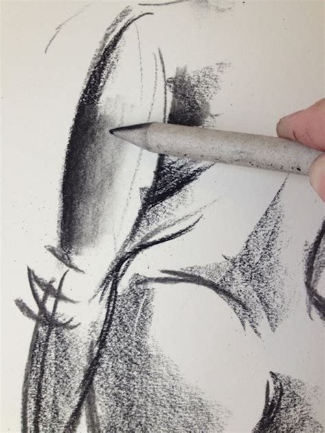 Drawing With Charcoal by Shadow And Smudge A Drawing With Charcoal Tutorial