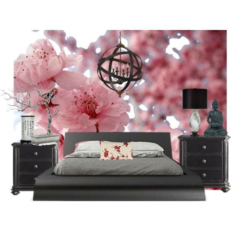 Cherry Blossom Bedroom | cherry blossom asian inspired bedroom bedrooms pinterest