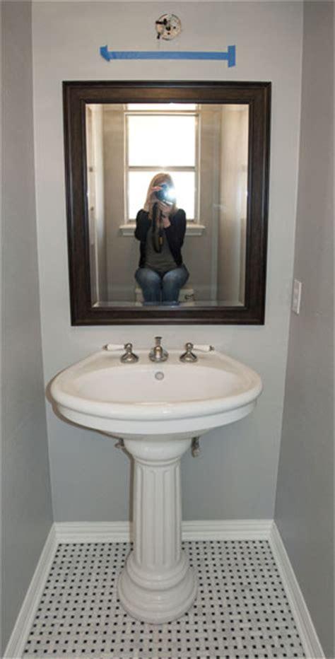 powder room pedestal sink powder room renovation progress pedestal sink marble