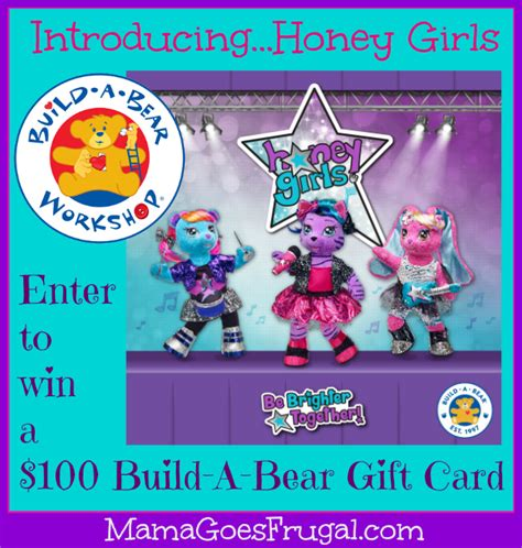 Build A Bear Gift Card - honey girls review 100 build a bear gift card giveaway