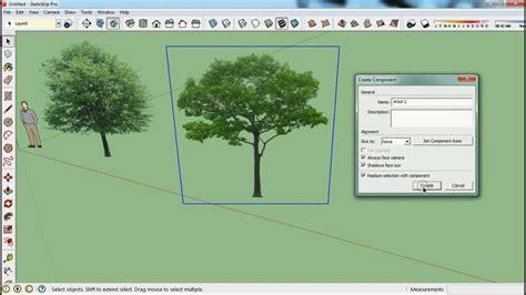 sketchup layout que es como hacer arboles a partir de una imagen en sketchup