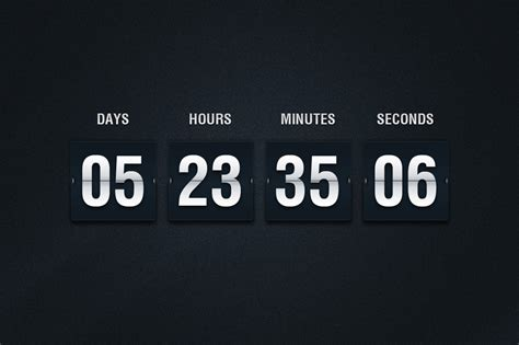 5 Minutes Furniture flip countdown psd illustrations on creative market