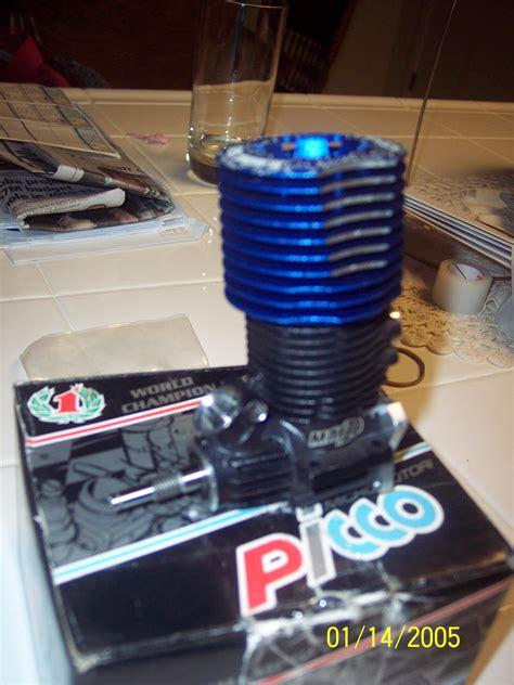 Nitro Engine Picco 26 For Traxxas Revo With Engine Mount fs ofna picco 26max w ez start backplate r c tech forums