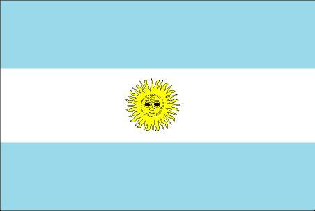 flags of the world yellow sun cia the world factbook 2002 flag of argentina