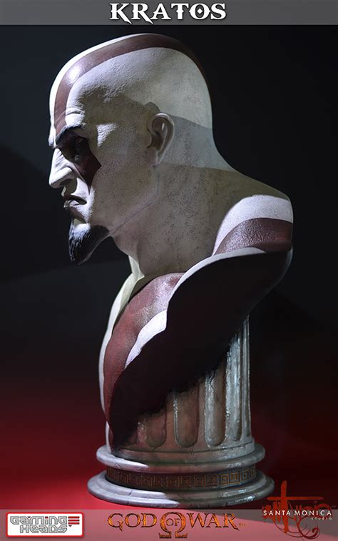 God Of War Kaos 2 Sisi Size S god of war kratos size bust the toyark news