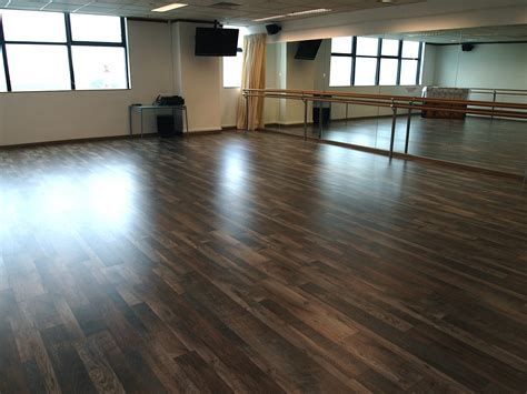 commercial laminate flooring project by evorich aq