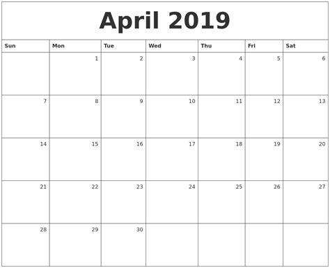 printable monthly calendar 2019 september 2019 free calendar