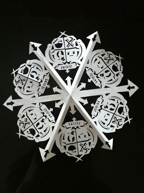 How To Make Really Cool Paper Snowflakes - how to make a paper snowflake