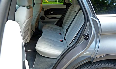 range rover evoque back seat space 2013 land rover range rover evoque pros and cons at
