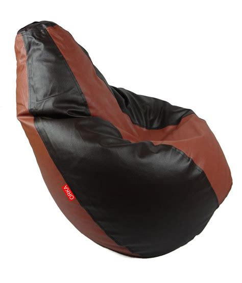 bean bag chair price orka bean chair with beans black best price in india