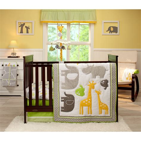 Carters Crib Bedding S Animals 4 Bedding Set With Stacker Baby Bedding Sets At Hayneedle