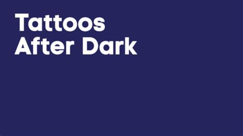 tattoo after dark episode guide tattoos after