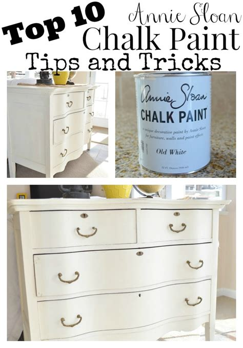 chalk paint techniques review of chalky spray paint