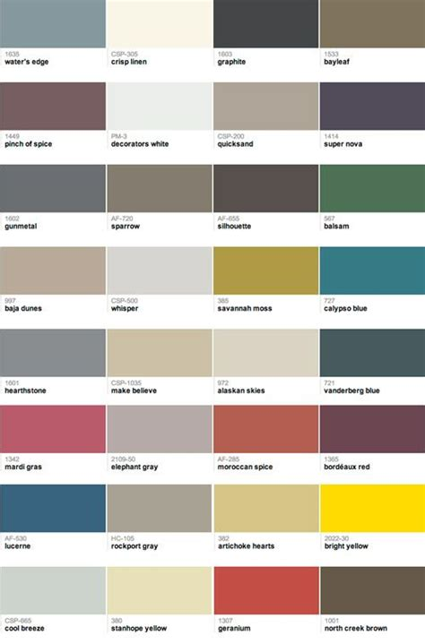 benjamin color swatches 41 best benjamin paint color swatches images on