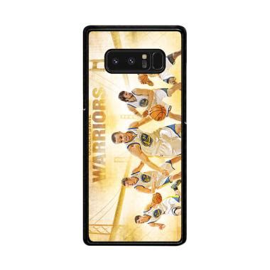 Casing Untuk Samsung S8 Golden State Warriors Custom Cover jual flazzstore nba playoffs golden state warriors z4906