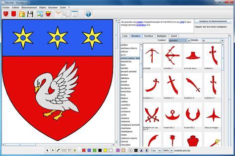 Blas On h 233 raldique 9 logiciel pour dessiner vos blasons cdip