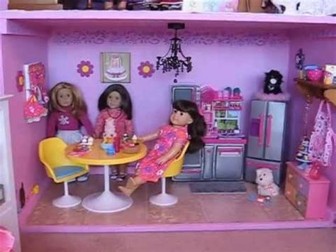 american girl doll house youtube american girl doll house kitchen tour youtube