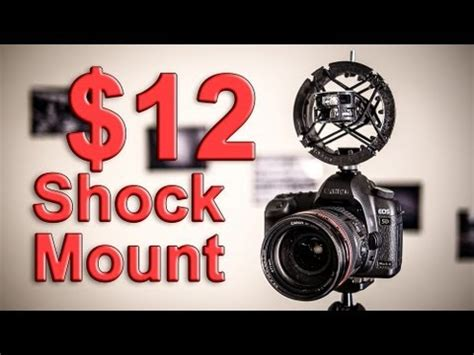 Shock Zoom Zoom H1 Shockmount How To Save Money And Do It Yourself