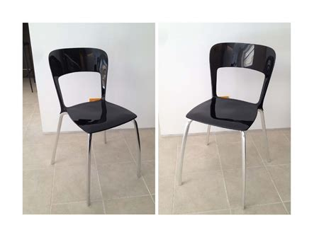 sedie nere pin up nere di ycami scontate sedie a prezzi scontati