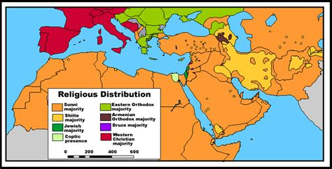 middle east map of religions eyapolitics licensed for non commercial use only how