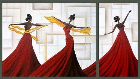Imagenes De Negras En Cuadros | cuadros modernos pinturas y dibujos modernas l 225 minas de